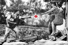 Campanha da Cruz Vermelha Brasileira  http://www.ibelieveinadv.com/2012/03/brazilian-red-cross-plus-sign/