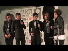 One Direction BRIT Awards 2014 Interview (Full) | 4Music-- by the end I felt like I had add or something
