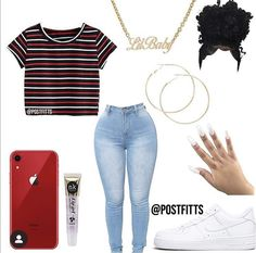 Best Picture For lazy swag outfits For Your Taste You are looking for something, and it is going to Swag Outfits For Girls, Boujee Outfits, Cute Swag Outfits, Teenage Girl Outfits, Cute Comfy Outfits, Teen Fashion Outfits, Dope Outfits, Simple Outfits, Stylish Outfits