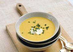 Gwyneth Paltrow's Corn Vichyssoise. http://www.bonappetit.com/recipes/2011/06/corn-vichyssoise#