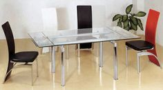 Extendable Glass Dining Table Only Extendable Glass Dining Table, Dining Table In Kitchen, Dining Room, Wood, Modern, Furniture, Home Decor, Products, Trendy Tree