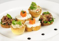canapé ideas with boiled egg - Google Search