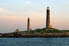 Thacher Island Twin Lights, Rockport, Massachusetts