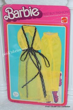 Barbie Best Buy Fashion Collectible Fun Favorites 1975 Vintage Yellow 2pc 2565 | eBay