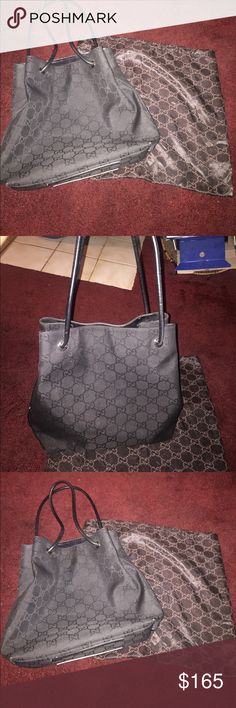 Authentic Gucci handbag Black authentic Gucci handbag with dustbag more photos if needed 152279  203419 Gucci Other