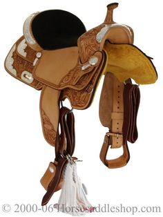 Front view of the saddle that promises you speed