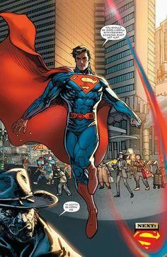 Superman confronting Johan Hex