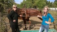 My stepdaughter and me on their farm May 2015