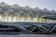 Oriente Transportation Station in Portugal