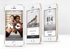 Nike N+TC Trainings App