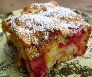 Spring Rhubarb Cake