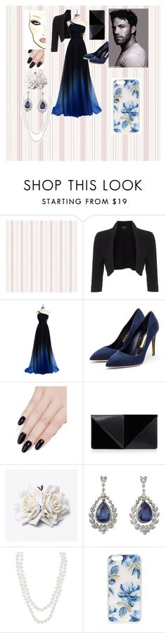 """""""How you met : Bruce Wayne"""" by cheyenne-oseye-sykes ❤ liked on Polyvore featuring Phase Eight, Rupert Sanderson, ncLA, UN United Nude, Henri Bendel and Sonix"""