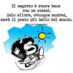 Mafalda - il segreto è stare bene con ...