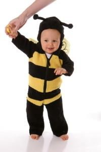 A bumblebee is among the most popular costume for infants