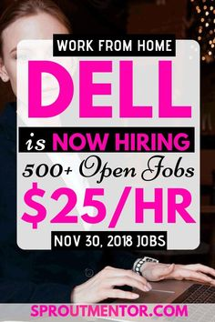Dell is now hiring, more than 500 remote and work from home jobs positions open. You shall also find other 10 work from home companies hiring now, such as Parallon, Lionbridge, and PNC Financials among others in this post. Work From Home Careers, Work From Home Companies, Legitimate Work From Home, Work From Home Opportunities, Business Opportunities, Make Money From Home, Way To Make Money, Make Money Online, Companies Hiring