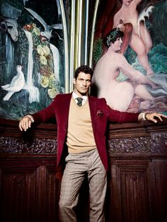 David Gandy. Menswear. Gentlemen Style. Men's Fashion