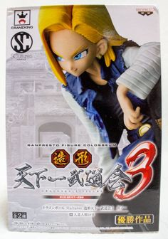 Dragon Ball Z SCultures Android 18 Figure Tenkaichi Colosseum Banpresto JAPAN