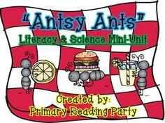 """Antsy Ants"" {Literacy & Science Mini-Unit}"