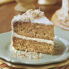 Decadent Banana Cake With Coconut-Cream Cheese Frosting | MyRecipes.com