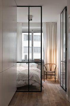 """Foto """"pinnata"""" dai nostri lettori Emanuela e Fabio di CAFElab Piccoli spazi, una casa in bianco"""