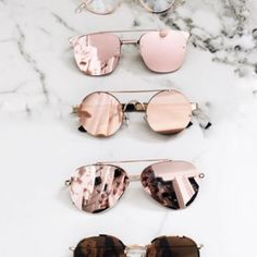 sunglasses, pink, and style image Glasses Frames Trendy, Cute Glasses, Stylish Sunglasses, Sunglasses Women, Reflective Sunglasses, Sunnies, Korean Accessories, Cute Headphones, Glasses Trends