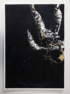 lost in space by Christian Fernandez, via Behance