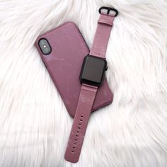 Matchy matchy ♀️ Blush Case and Apple Watch band for iPhone X, iPhone 8 Plus / 7 Plus & iPhone 8 / 7 & Apple Watch band for 38mm and 42mm Apple Watch #blush #elementalcases #applewatch #iphoneX #iphone8plus #iphone8 #iphone7plus #iphone7