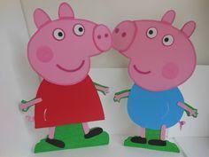 Como Hacer Dulceros De Foamy De Peppa Pig | Home Idea Gallery