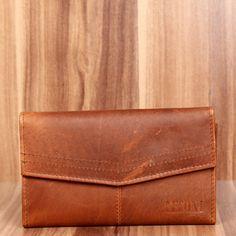 814bf128d8c2c9 LECONI Geldbörse Portemonnaie Querformat Leder braun LE9013