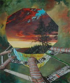 "Saatchi Online Artist: geoff diego litherland; Oil, 2012, Painting ""We Anchor in Hope"""
