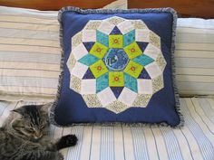 JulieLou Quilting, Hiking, Gardening, Throw Pillows, Embroidery, Reading, How To Make, Walks, Toss Pillows