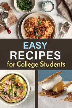2202 Best College Recipes Meals Dorm Snacks Images In 2019