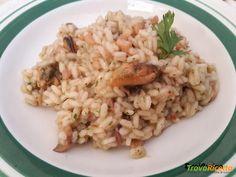 Risotto di mare con pesce surgelato – ricetta per farlo a casa  #ricette #food #recipes