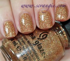 Scrangie: China Glaze On Safari Collection Fall 2012 Swatches I Herd That