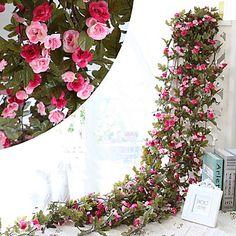 230CM+51Heads+Flower+High+Fidelity+Rose+Flower+Rattan+Home+Decoration+–+GBP+£+5.98