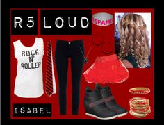 """R5 concert outfit"" by mrslynchr5 on Polyvore"
