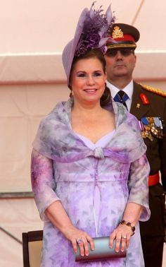 Grand Duchess Maria Teresa of Luxembourg celebrates National Day on 23 June 2013 in Luxembourg