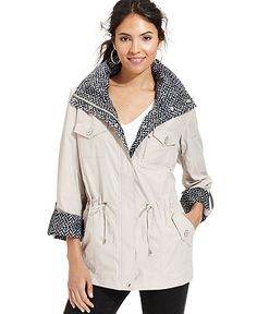 JM Collection Jacket, Anorak - Jackets & Blazers - Women - Macy's