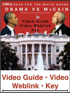 Race to the White House Obama v. Teaching American History, World History Teaching, World History Lessons, History Class, History Lesson Plans, Social Studies Lesson Plans, Teaching Social Studies, White House Obama, Absent Students