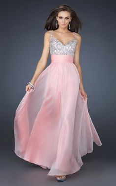 Pink and silver wedding gown? I do!