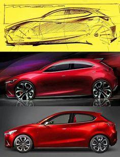 Mazda 2 design process