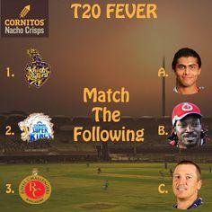 #match #T20 #Cornitos