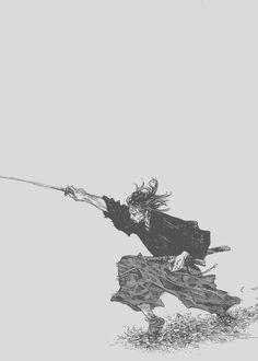 musashi-no-kami:    Inoue Takehiko  Miyamoto Musashi
