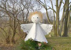 Angel Tree Topper DIY Craft - Momtastic