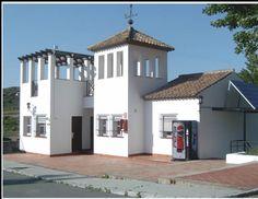 Edificio de recepción, tambien llamado dominio de Nelucho.