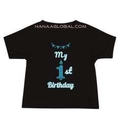 My 1st birthday Baby Boy  Premium Tee | Bella + Canvas 3001T Make your baby feel extra special on his birthday with this cool design. 100% combed and ring-spun cotton* Bella Canvas, Spun Cotton, Celebrations, Cool Designs, Baby Boy, Ring, Tees, Birthday, Mens Tops
