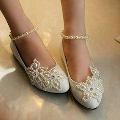 düz taban gelin ayakkabısı