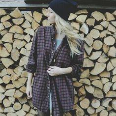 Flannels and beanies ❤️ #fashion #brandymelville #brandymelvillecanada #girls