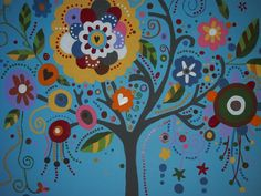 upclose mural