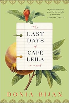 Wonderful book, very descriptive. Author makes you feel that you are right in the kitchen at the cafe.